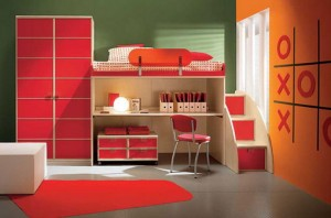 camerette modern kids bedroom